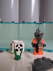 Bounty hunter ({Achillea}) Tags: space lego mask technique minifigure star wars
