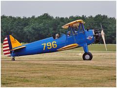 PT-13 D Kaydet - 75-5541 - N43SV | Aero Vintage Academy (Aerofossile2012) Tags: avion aircraft aviation meeting airshow laferté 2017 aérovintageacademy pt13 d kaydet 755541 n43sv | aero vintage academy stearman