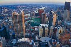Downtown Up Close (Brook-Ward) Tags: hdr brook ward downtown pittsburgh pitt burgh pgh 412 city cityscape upmc ppg street travel vacation holiday drone aerial