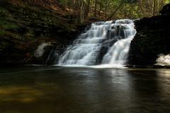 Partridge Run Waterfall (ca276) Tags: waterfall movingwater longexposure nikond5200 albanycounty stream cascade partridgerun