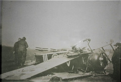 Plane shot down carrying Seawood Peter Keay  #2201 (Aussie~mobs) Tags: seawoodpeterkeay aif ww1 59thbattalion army military raaf soldier lieutenant 4squadron australia vintage australianflyingcorps plane aeroplane accident shotdown damaged killed lestweforget anzac