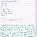 automatic writing, project journal#2 pg109