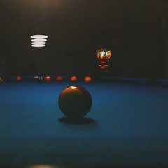 A game. (xxanthippe) Tags: billiards friends game heraklion crete retro vintage artistic photography colours people