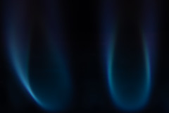 gas burner, 2x (jlodder) Tags: flickrfriday flames canon ef180mmf35lmacrousm extenderef2xii 2x macro cropped lowkey blue