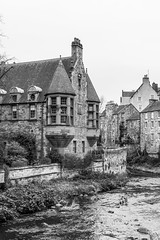 River Bend (separatesunsets) Tags: architecture deanvillage edinburgh old scotland stockbrigde waterofleith