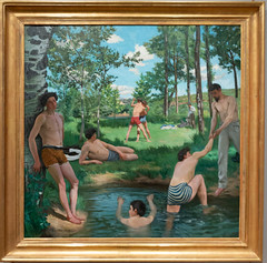 IMG_2021 (jaglazier) Tags: 123018 18411870 1841ad1870ad 1869 1869ad 2018 adults bazille bearded beards cambridge crafts december deciduoustrees fredericbazille french grass harvardartmuseum landscape massachusetts men museums oil oiloncanvas painting plants portraits streams swimming trees usa wrestling art barechested barefoot copyright2018jamesaglazier impressionism oilpainting