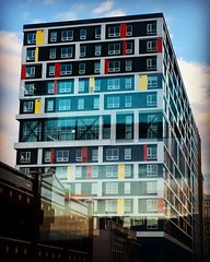cool Baltimore windows (karma (Karen)) Tags: baltimore maryland downtown urban buildings walls windows iphone hww topf25