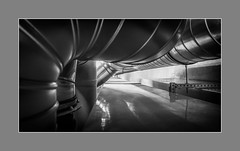 Dickdarm (Panasonikon) Tags: panasonikon sonyrx100m4 bw sw pipes rohr grau grey technik reflexion tiefe