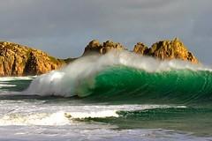 CORNISH WAVE (Tony Armstrong-Sly) Tags: cornwall wave surf beach coast water sea rocks shoreline seascape landscape nature
