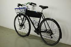 _MG_1210 (Necrotaoist) Tags: cycling bicycle randonneur albatrossbar framebag tubus wald137 nitto shanghai wtb sks justride bluelug b352 diy handmade steelframebike
