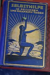 Yoga from 1927 (Jojorei) Tags: book artdeco dekorativ decoration blue yoga joga gesundheit health selfhealing selbsheilung gold