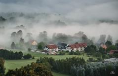 Die Nebelküche (Uwe Kögler) Tags: saxony sachsen nebel nebelstimmung germany gohrisch sächsischeschweiz elbsandsteingebirge morning morgen deutschland landscape