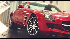 Mercedes SLS (at1503) Tags: germany germancar mercedes sls mercedessls supercar red reflections indoors light wheel headlight depthofffeild gtsport granturismo granturismosport motorsport racing game gaming ps4