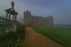 Montacute House (y.mihov, Big Thanks for more than a million views) Tags: montacute house national trust trespass travel tourist trees town sonyalpha sightseeing skyes sigma wide walks holiday historical fog winter garden green grass buildings architecture stone europe england englanduk