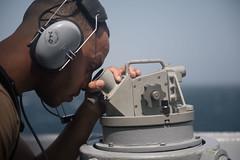 190214-N-OW019-1002 (NavyOutreach) Tags: usschunghoon ddg93 sailor watch transit arabiangulf babalmandebstrait