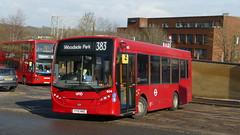 Universitybus Without The University (londonbusexplorer) Tags: uno universitybus adl enviro 200 604 yy15nke 383 woodside park barnet the spires tfl london buses