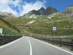 SS27 Colle del Gran San Bernardo-4 (European Roads) Tags: ss27 colle del gran san bernardo italia suisse switzerland grand saintbernard strada statale