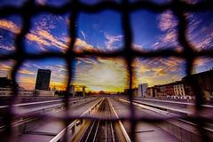 Mi piacciono i tramonti pieni di luce, quelli che irrompono da qualche angolo nascosto del cielo e incrinano l'asse terrestre tanto sono spettacolari. Quelli che ti ricordano perché sei vivo. (Fabrizio Caramagna) (thescourse) Tags: sundown milano tramonto canon eos 5d mk ii canoniani canoneos5dmkii canondslr hdr fullframe wondersofitaly cloud sunset railway wideangle