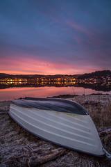 boat at sunrise (englishgolfer) Tags: ljungskile sunrise sweden west coast sverige västkusten bohuslän nikon d7500 tamron 1750mm