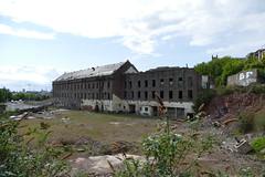 Wallace Craigie Works Dundee 2016 (17) (Royan@Flickr) Tags: 201605 wallace craigie works dundee william halley sons blackcroft landmark jute mill factory buildind demolished history 2016