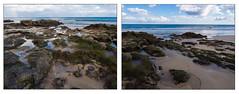 Gezeiten:   wenn sich das Wasser zurück gezogen hat (mohnblume2013) Tags: strand meer steine fuerteventura atlantik gezeiten ebbe sonne weite landschaft jandia kanaren