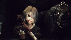 72850_20190215181346_1 (SasakiPajero) Tags: videogame v vampire tesv screenshot skyrim scrolls snapdragonprimeenb shorthair tes face enb elder eyes 3d girl