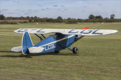 Comper CLA Swift - 01 (NickJ 1972) Tags: shuttleworth collection oldwarden race day airshow 2018 aviation comper cla7 cla swift replica glcgl