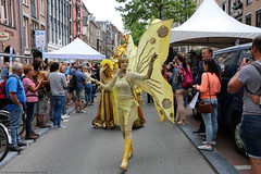Fluttering Butterfly (Rick & Bart) Tags: amsterdam mokum parade streetphotography rickvink canon eos70d everydaypeople people personnes streetparty