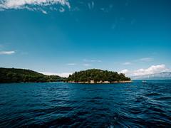 Divine blue (Petr Horak) Tags: sea water blue blueskies island trees