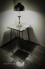 Table and Lamp in the Corner (Kool Cats Photography over 11 Million Views) Tags: lamp table blackandwhite bw oklahoma oklahomacity decor furniture highcontrast