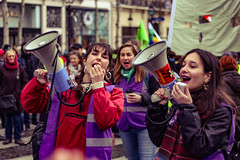 IMG_4306 (O Phil des Contrastes) Tags: 8 mars féminisme feminism paris demonstration giletsjaunes acte 17