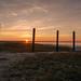 Sonnenuntergang im Jadebusen
