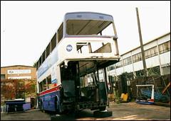 2441 (NOA 441X) ((Stop) The Clocks) Tags: 2441 noa441x wmpte westmidlandstravel mcw mcwmetrobus millerstreet withdrawnbuses scrapbuses