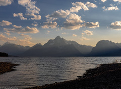 Teton Range Sunset (Ramona H) Tags: grandtetonnationalpark jacksonlake tetons wy wyoming nationalpark
