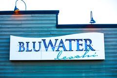 Hello Seattle (Thomas Hawk) Tags: america bluwaterbistro–leschi bluwater leschi seattle usa unitedstates unitedstatesofamerica washington washingtonstate neon restaurant fav10