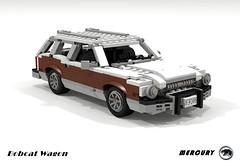 Mercury Bobcat Wagon (lego911) Tags: ford motor company pinto mercury bobcar wagon woody wood compact 1970s 1977 usa american auto car moc model miniland lego lego911 ldd render cad povray foitsop