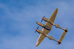 Lockheed P-38 Lightning (gilamonster8) Tags: aircraft 150600mm1563dgc dmafb sigma fighterplane wing canon flickr airforce fighter 5dmarkiv lockheedp38lightning usaf wwii flight plane warbird fly tucson sky arizona eos planes 2019heritageflighttraining airshow unitedstatesofamerica us