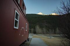 JRS_0878 (spruce_dweller) Tags: skagway alaska caboose white pass yukon route wpyr mountain sunset railroad