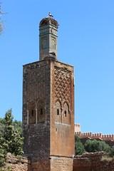Chellah, Rabat (Buster&Bubby) Tags: berber mosque almohad romanruins sala shalla phoenecians minaret chellah unesco world heritage site rabat
