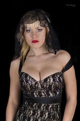 Ania (piotr_szymanek) Tags: ania aniaz woman portrait studio face eyesoncamera nobra veil young skinny 1k 20f 50f 5k 10k