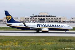 Ryanair Boeing 737-8AS  |  EI-EKT  |  LMML (Melvin Debono) Tags: ryanair boeing 7378as | eiekt lmml cn 38505 melvin debono spotting canon eos 5d mark iv plane planes photography airport airplane aircraft malta mla