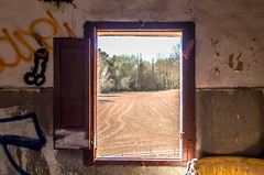 Open your mind (Santini1972) Tags: window old abandoned field nature barcelona nikon urbex anoia