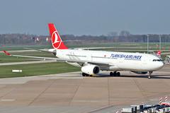Airbus A330-303 - TC-JOD - HAJ - 30.03.2019 (2) (Matthias Schichta) Tags: haj hannover hannoverlangenhagen eddv planespotting flugzeugbilder turkishairlines airbus a330300 tclod