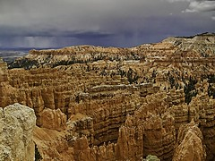 Bryce Canyon-storms brewing (landscapes through the lens) Tags: brycecanyon landscapes utah nationalpark mountains vacation southwest