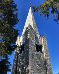 Courchevel Church Bell Tower (Marc Sayce) Tags: church bell tower courchevel ski resort three valleys trois vallées rhône alpes savoy savoie france spring march 2019