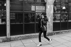 croco hunt (99streetstylez) Tags: street streetphotography strassenfotografie streetphoto 99streetstylez woman boots bnwstreetphoto fujix100f