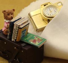 sleep (Grenzeloos1) Tags: macromondays hmm themetimepiece pendant clock bed sleep