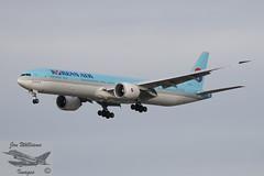 Korean Air Boeing 777-3B5 ER (jonny4x4uk) Tags: airbus boeing dreamliner a350 a320 a340 a380 a321 a319 aerlingus virginatlantic americanairlines b787 b747 b737 b777 a330 b757 landor britishairways ba speedbird deltaairlines oneworld retro lot unitedairlines airnewzealand aeroflot max8 cathaypacific thaiairlines airmalta qantas turkishairlines aircanada boac mea middleeastairways aegean srilankan alitalia neo bea airserbia airindia malaysiaairlines dhl cargo jetairways ana singaporeairlines saudia airchina airastrana gulfair koreanair airbridgecargo abc tunisair bulgarianairlines pia pakistaninternationalairlines qatar freighter airfreight heathrow lhr london egll airport avgeet 27r 27l 09r