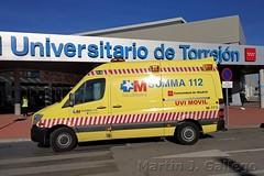 Mercedes Benz Sprinter W906 SUMMA (Martin J. Gallego. Siempre enredando) Tags: ambulancia ambulance emergency emergencyvehicles 112 mercedesbenz mercedes sprinter mercedesbenzsprinter summa emergencia emergencias