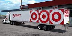 Target skin for Utility 4000DX Dry Van [ATS] (gripshotz) Tags: target utility 4000 dx dry van skin trailer 53ft american truck simulator ats 2